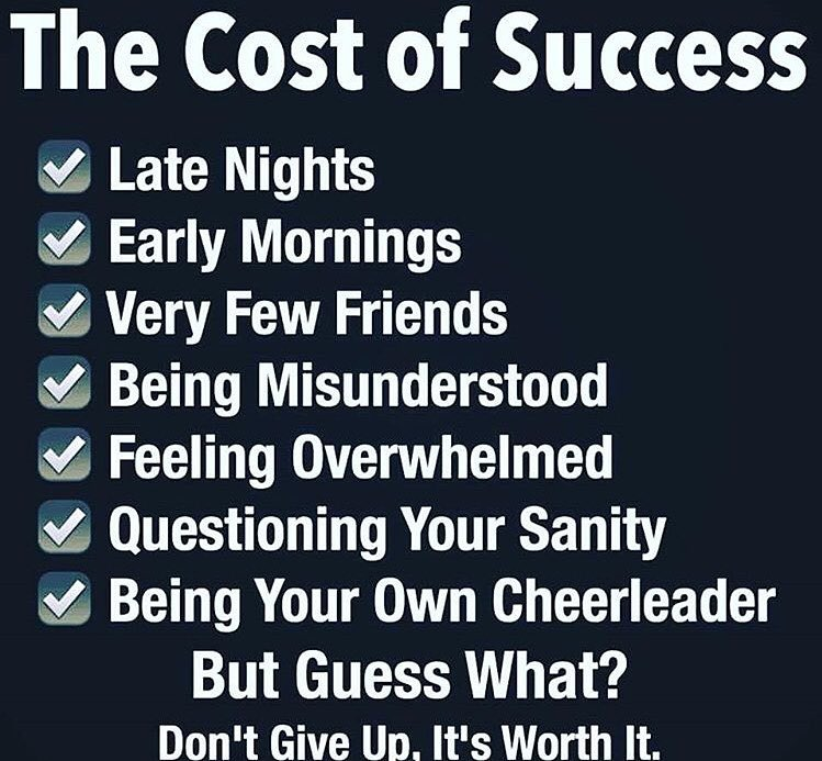 The Cost of Sucess?